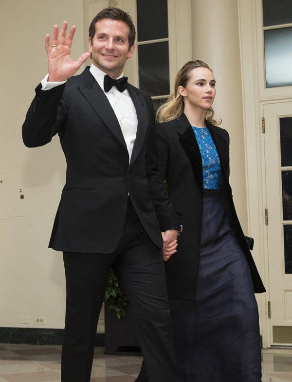 Bradley Cooper y Suki Waterhouse, invitados de honor de Obama en la Casa Blanca