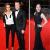 Angelina Jolie y Brad Pitt causan sensación en la entrega de los Bafta