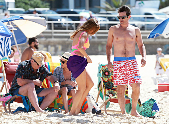 Sofía Vergara se lleva a su prometido a Australia para el rodaje más divertido de 'Modern Family'