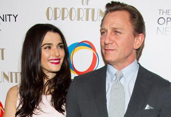 Rachel Weisz, y Daniel Craig: la mirada que ilustra su feliz matrimonio