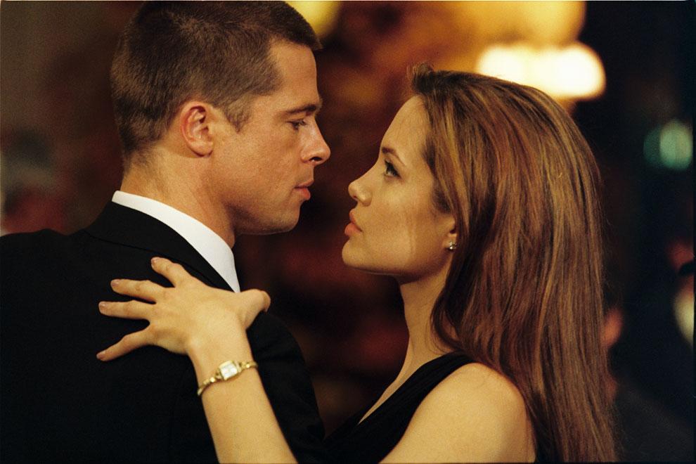 Angelina jolie y brad pitt su historia de amor en - M r love wallpaper ...
