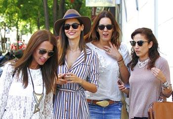 Paula Echevarría, Toni Acosta y Ariadne Artiles... ¿quedamos?
