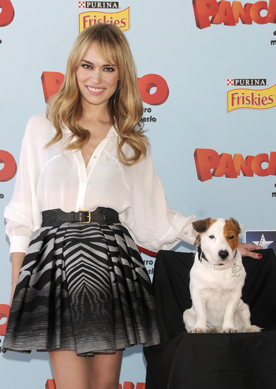Patricia Conde comparte protagonismo con Pancho en su debut cinematográfico
