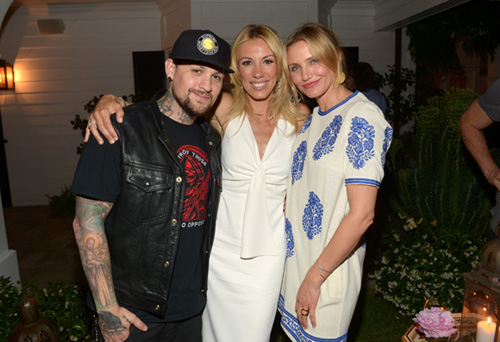 ¡Nuevas y sorprendentes parejas! Cameron Díaz con Benji Madden, y Uma Thurman, ¿amiga o novia de Quentin Tarantino?