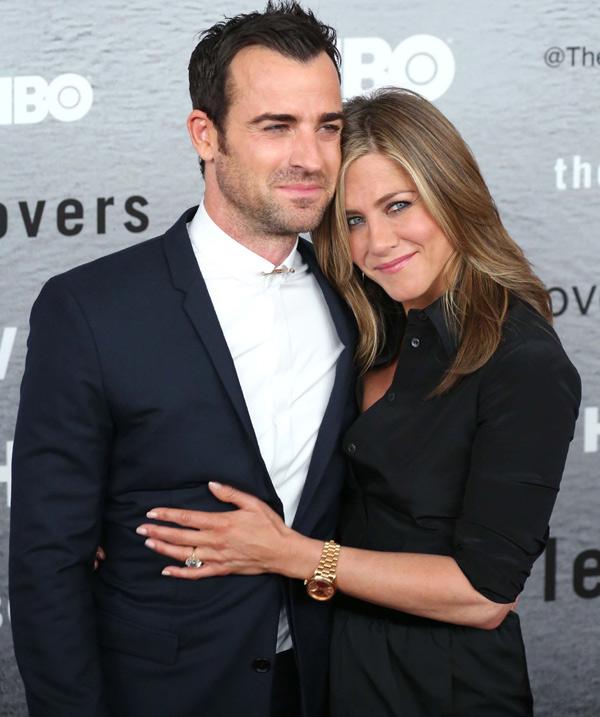 Jennifer Aniston y Justin Theroux reaparecen muy enamorados en la alfombra roja