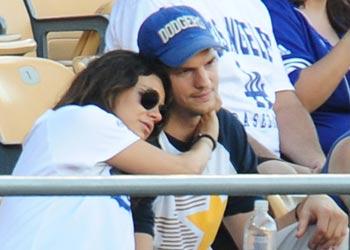 Ashton Kutcher y Mila Kunis, la dulce espera de dos enamorados