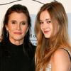 Carrie Fisher podría compartir pantalla con su hija en la nueva película de 'Star Wars'
