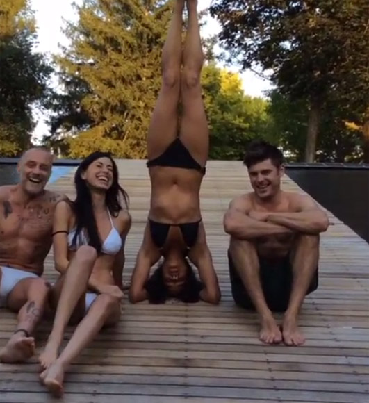 Zac Efron y Michelle Rodríguez, la extraña pareja del verano