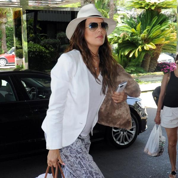 Eva Longoria aterriza en Marbella para un fin de semana muy especial