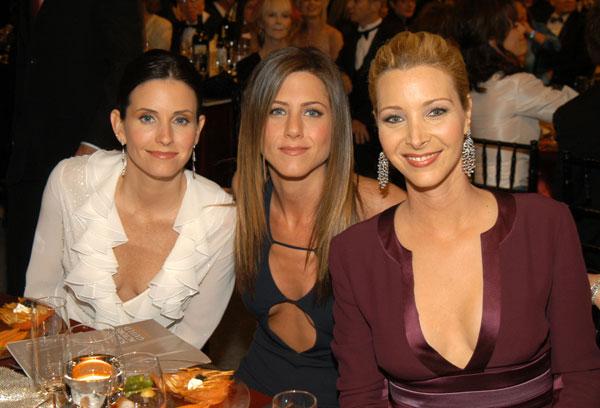 El reencuentro de las chicas de 'Friends' diez años después