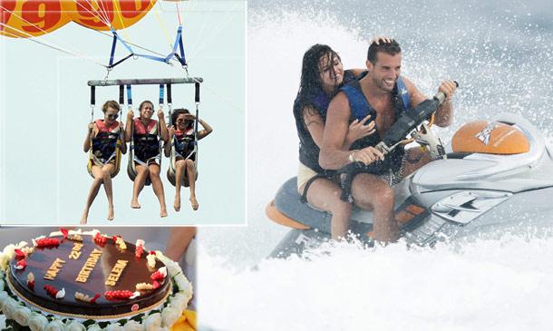 Parasailing, yate, moto acuática... Selena Gómez celebra su 22 cumpleaños en la cresta de la ola