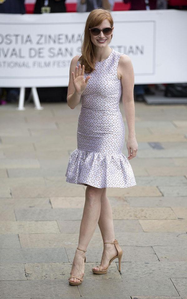 La actriz Julie Gayet, a quien se relacionó con François Hollande, llega a España