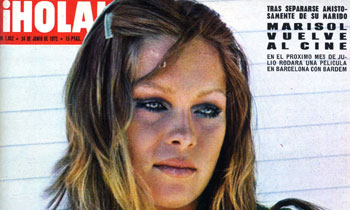Marisol vuelve al cine, así lo contó ¡HOLA! en el verano de 1972