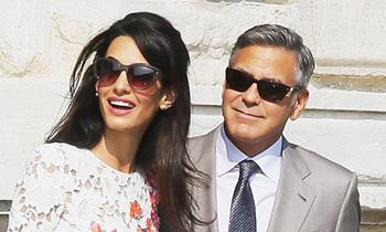 La felicidad de George Clooney y Amal Alamuddin tras su gran boda italiana