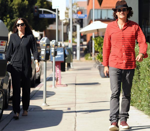Nueva cita de Orlando Bloom y Erica Packer
