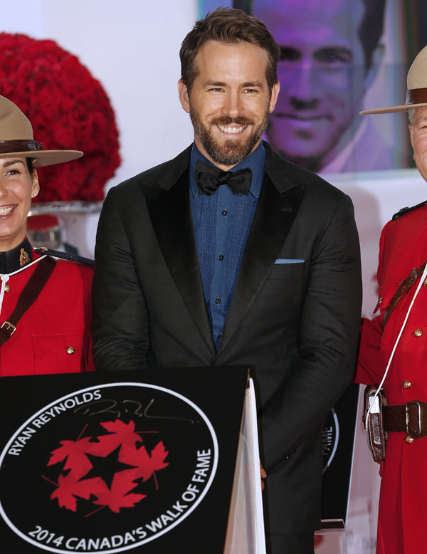 Ryan Reynolds bromea al hablar por primera vez de su futura paternidad: 'Se llamará Excalibur Anaconda Reynolds... si es niña'