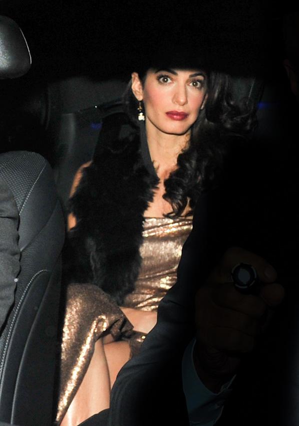 ¡Otra fiesta por su boda! George y Amal Clooney reúnen a sus familiares y amigos en Inglaterra