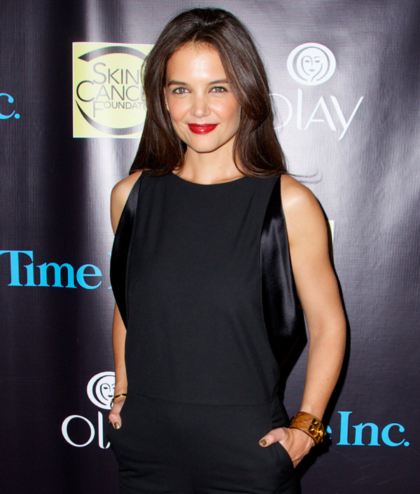 Katie Holmes: 'No quiero que me conozcan por ser la ex mujer de Tom Cruise'