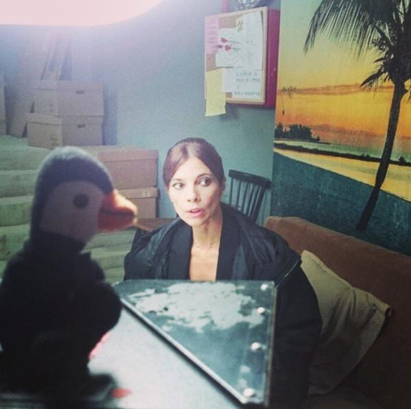 Maribel Verdú nos enseña su curioso talismán de la suerte