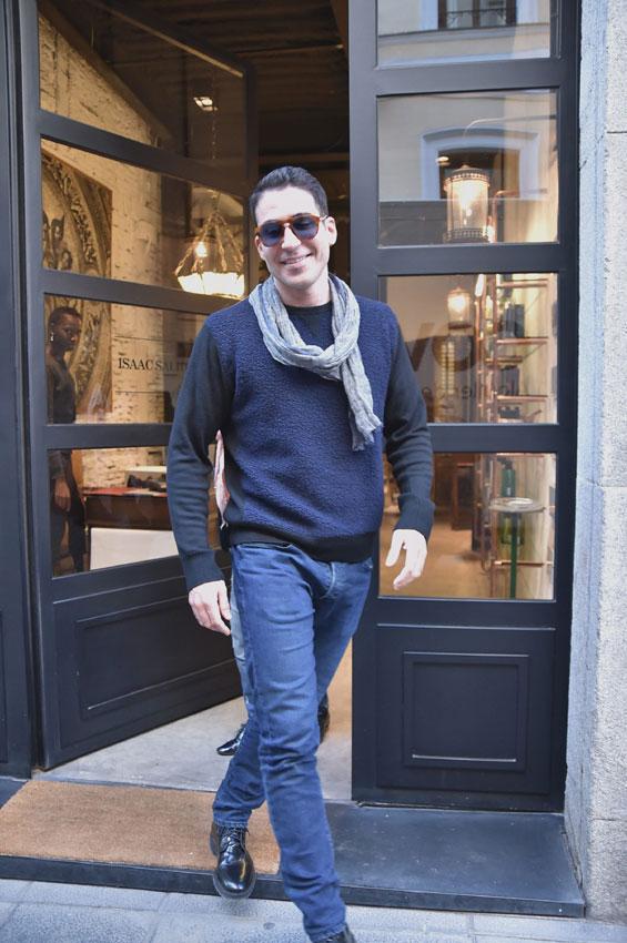 Miguel Ángel Silvestre con su rubia favorita
