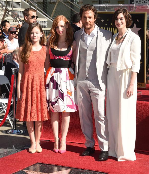Anne Hathaway Hijo: Los Hijos De Matthew McConaughey, 'estrellas' Junto A Su