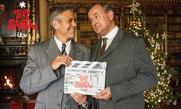 George Clooney también conquista con su encanto a la aristocracia inglesa