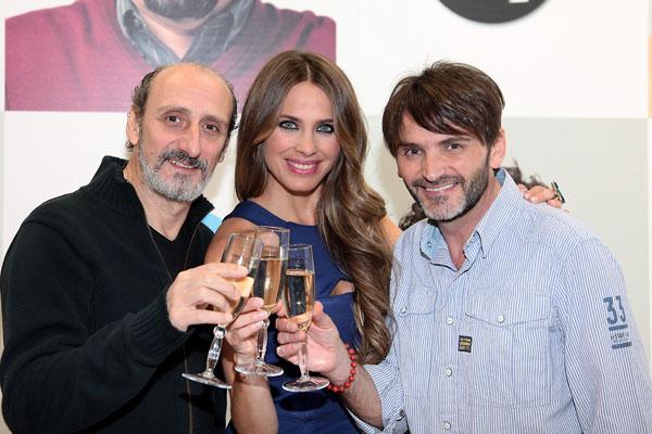 Megan Montaner, Macarena García, Andrés Velencoso y otros protagonistas de las series más populares brindan por 2015