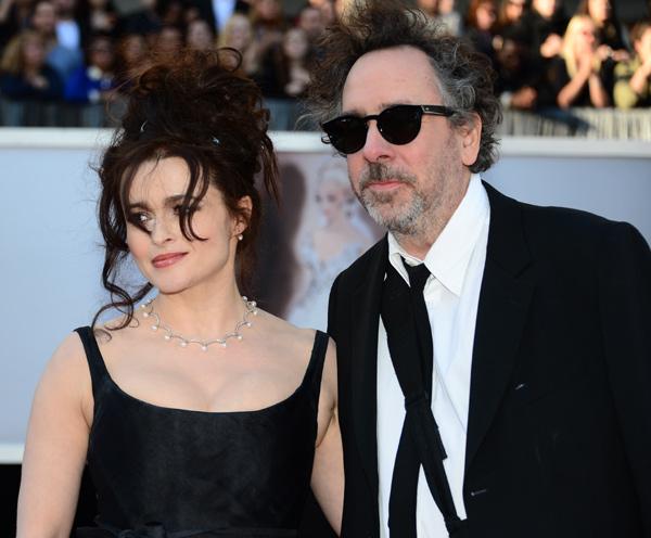 Tim Burton y Helena Bonham Carter se separan