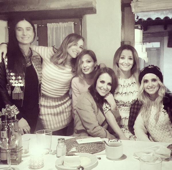 Paula Echevarría y Marta Hazas, dos chicas 'Velvet' de compras por Navidad