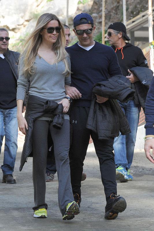 Primicia: Antonio Banderas, nueva novia, misma Navidad