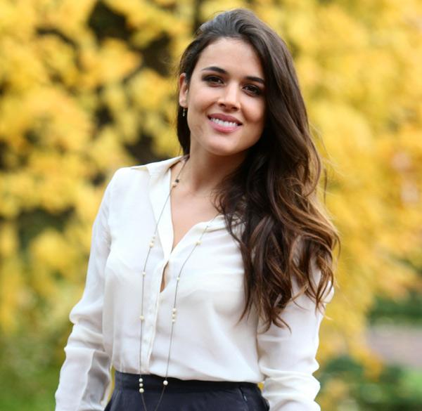 Adriana Ugarte comienza, ilusionada, su mejor año
