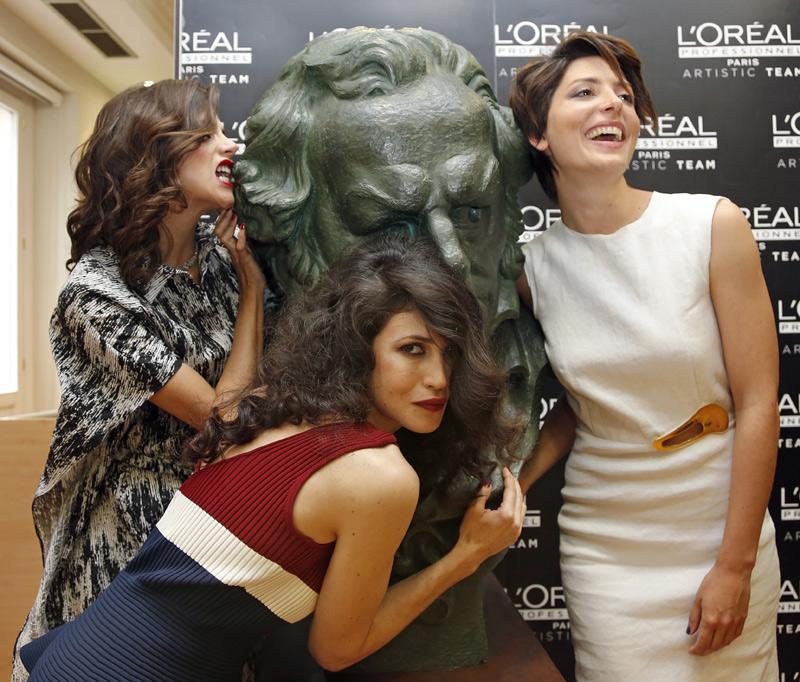 Macarena Gómez, Bárbara Lennie y Nerea Barros, así se preparan tres nominadas a los premios Goya 2015