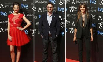 La cena previa de los premios Goya reúne a los nominados