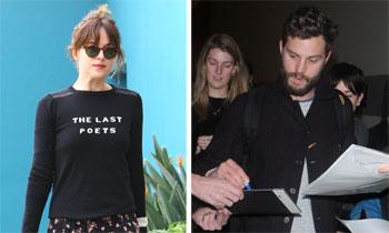 Dakota Johnson y Jamie Dornan, ¿preparados para que 'Cincuenta sombras de Grey' revolucione su vida?