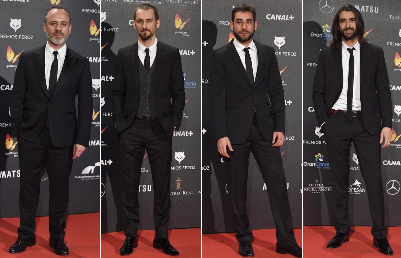 Desfile de estrellas en la alfombra roja de los premios Feroz