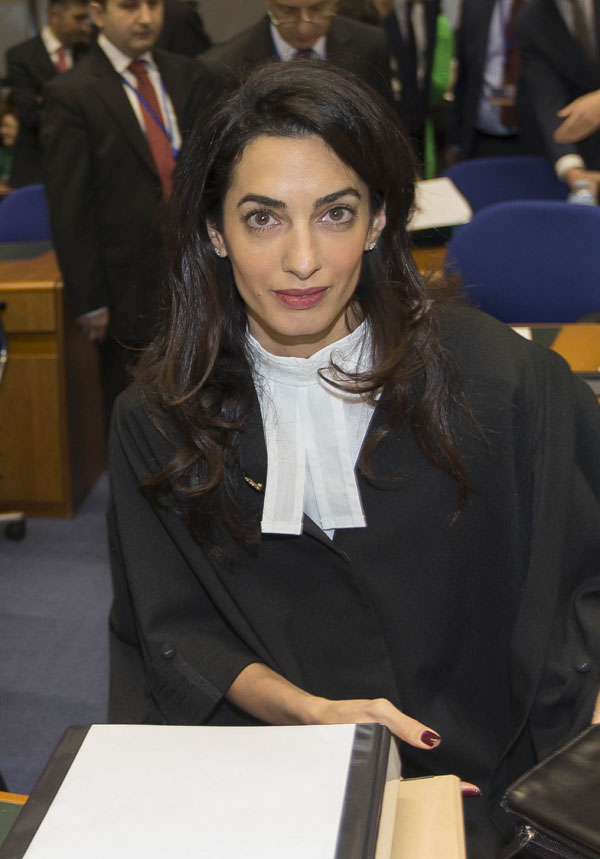 Amal Clooney Jpg Pictures to pin on Pinterest View Image