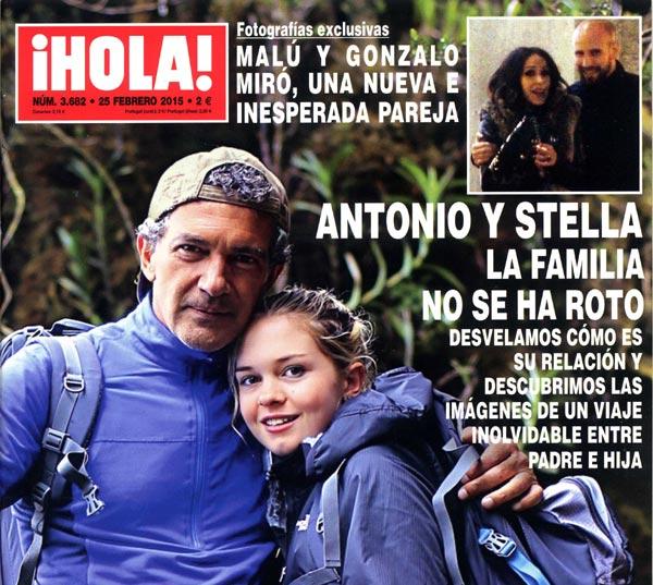 ¡HOLA! desvela cómo es la relación entre Antonio Banderas y Stella y descubre las imágenes de un viaje inolvidable entre padre e hija