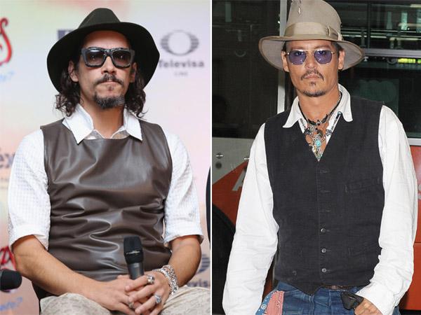 El juego de las siete diferencias con Johnny Depp y Óscar Jaenada