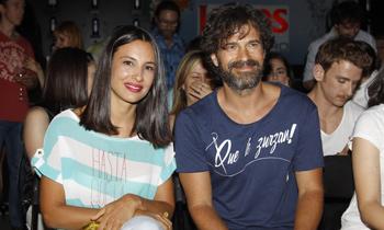 Rodolfo Sancho y Xenia Tostado han sido padres de una niña