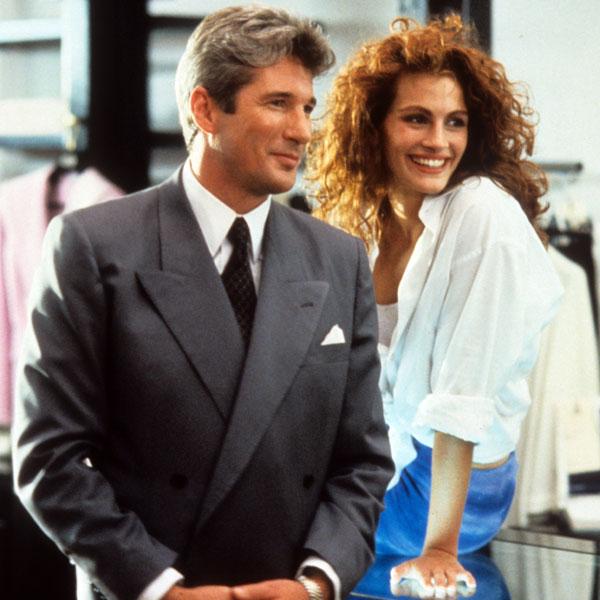 El beso de Richard Gere y Julia Roberts, 25 años después de Pretty Woman