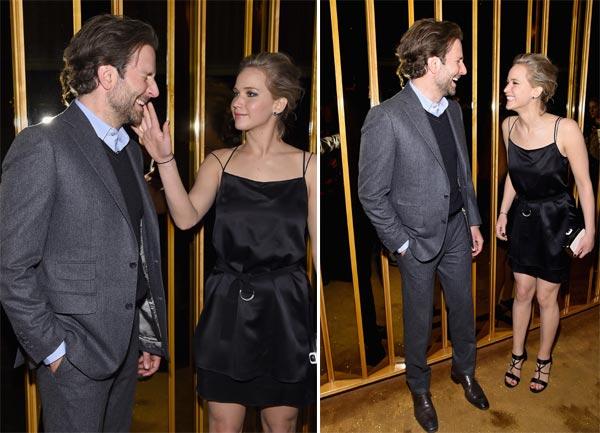 Las bromas de Jennifer Lawrence, la mejor terapia para Bradley Cooper tras su ruptura con Suki Waterhouse
