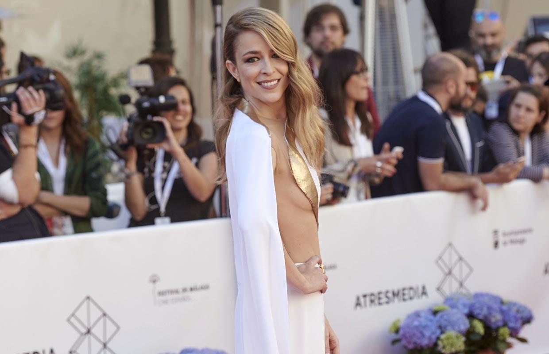 Silvia Abascal, la estrella del Festival de Málaga cuatro años después de su infarto cerebral: 'Es difícil volver a empezar'