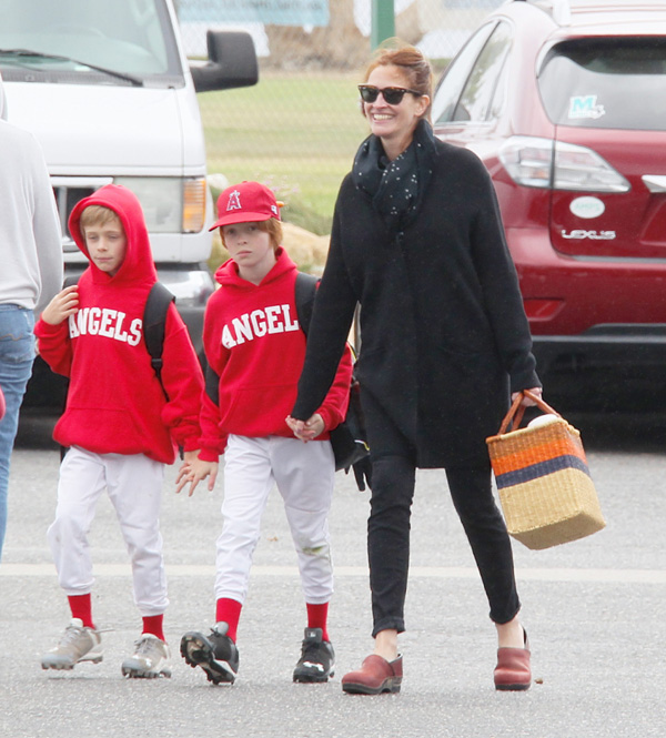 Julia Roberts vuelve a sonreír gracias a sus hijos