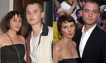 Jude Law ya ha encontrado a su doble: su hijo Raff