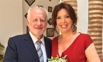 El actor Juan Echanove se casa con la gastrónoma Cuchita Lluch