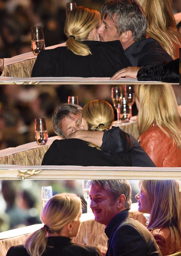 Cuando nadie nos ve... Así son Charlize Theron y Sean Penn en la intimidad
