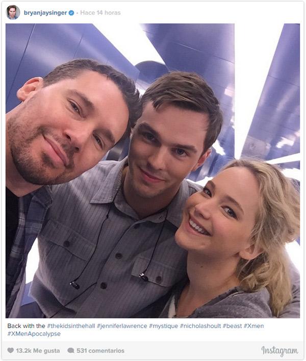 Siguiendo los pasos de Chris Martin... Jennifer Lawrence también se lleva bien con su ex