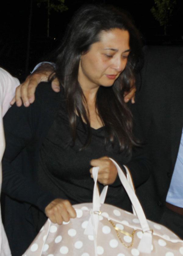 La viuda de Eduardo Cruz, rota de dolor tras el inesperado fallecimiento de su marido y padre de su hija