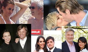 Los actores de Hollywood rendidos a los encantos de las españolas