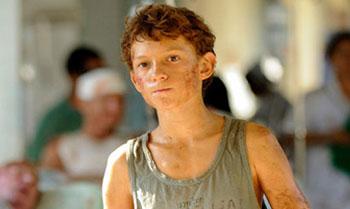Tom Holland, el niño de 'Lo imposible', será el Spiderman más joven de la historia